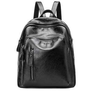Backpack Ladies Backpack Bag Leather Casual Fashion