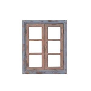 Window Frame Ornament Brown