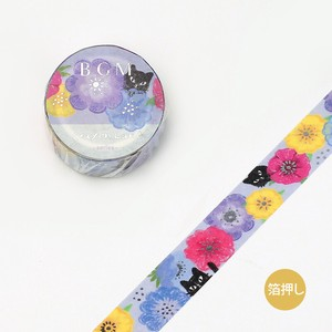 [BGM] Washi Tape  / Masking Tape Crayon Land Anemones