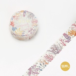 [BGM] Washi Tape  / Masking Tape Coral