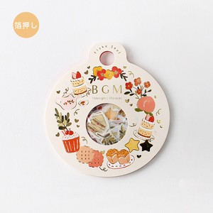 Flake SEAL Foil Stamping Dessert Wreath Washi Tape Material