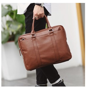 Cow Leather Business Bag Design Cow Leather Brief Case