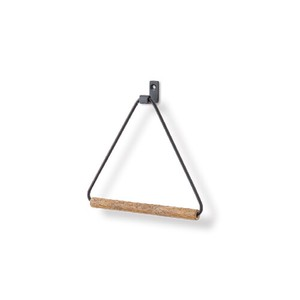 Poth Living Towel Hanger Black