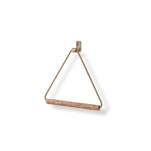 Poth Living Towel Hanger Antique Gold