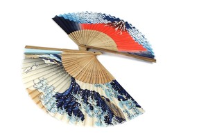 Fancy Goods Art & Design Book Folding Fan Fuji