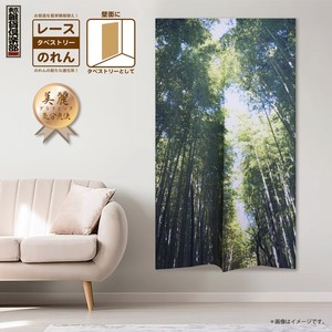 Japanese Noren Curtain Tapestry Use For Landscape Japanese Noren Curtain Bamboo Forest
