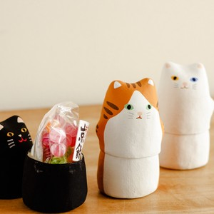 Objects and Ornaments Hariko Cat Series Gift