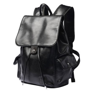 Decoration Backpack Men's Fine Quality Leather Business Backpack A4