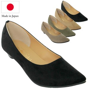 4E Heel Pumps Suede
