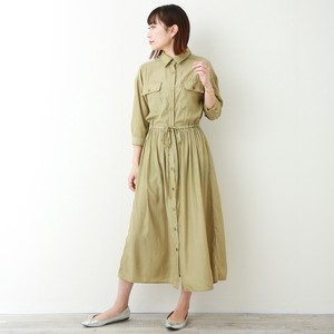 Specification Shirt One-piece Dress