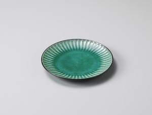 Make Up Plate Green Pottery