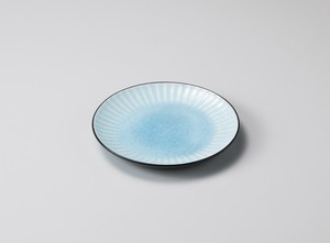 Make Up Plate Blue Pottery