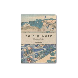"[RO-BIKI NOTE] MUSEUM SERIES ""TOKAIDO Ukiyoe"" Notebook"