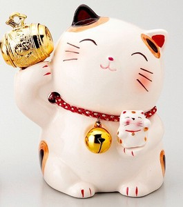 Ornament Gavel Cat Piggy Bank