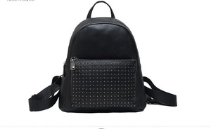 Backpack Casual Genuine Leather Men's Backpack Outdoor Good Handbag