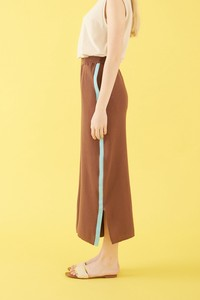 Color Line wide pants