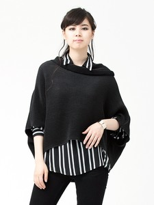 Bi-Color Ensemble Turtle Neck Pullover Shirt Tunic