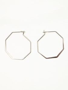 Design Hoop Pierced Earring