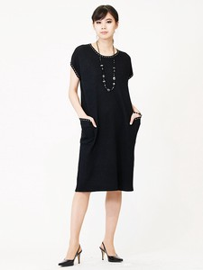 Jacquard Knitted Dress Pocket