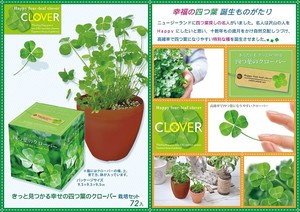 Happiness Four Leaves Clover Four Leaves Clover Harvesting Set