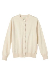 Organic Cotton Knitted Basic Cardigan