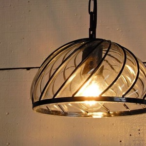 Cap Glass Lamp