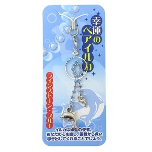Good Luck Strap Happiness Dolphin Strap Blue