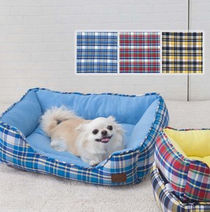 Pet Bed Madras Checkered