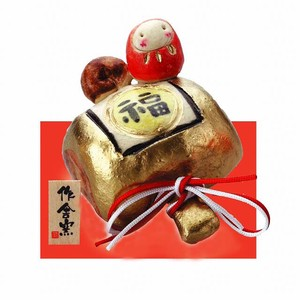 Ornament Daruma Gavel Ornament