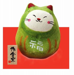 Ornament Cat Daruma Ornament