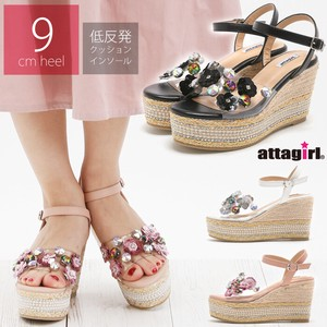 """2020 New Item"" 9cm Wedged Heel Strap Sandal"