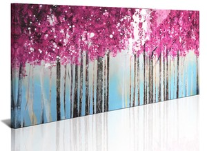BURNISH WALL ART/NORDIC FOREST2