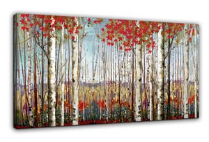 BURNISH WALL ART/NORDIC FOREST3