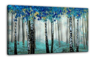 BURNISH WALL ART/NORDIC FOREST4