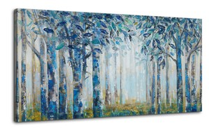 BURNISH WALL ART/NORDIC FOREST6