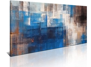 BURNISH WALL ART/NORDIC ABSTRACT3