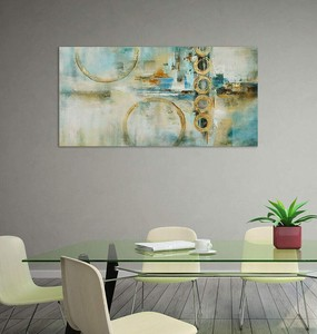 BURNISH WALL ART/NORDIC ABSTRACT5