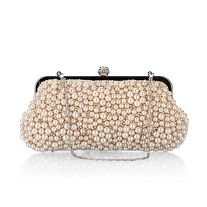 Ladies Formal Party Bag 3 Colors Bag Pearl Beads Bag