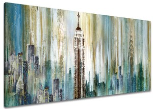 BURNISH WALL ART/Empire State Building