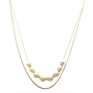 Bright Bright Pearl Necklace