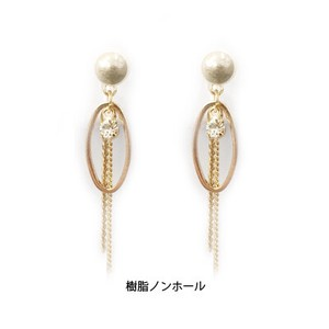 Bright Bright Pearl Hall Pierced Earring