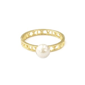 Bright Bright Pearl Ring