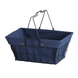 [Abite] Wire Fabric Basket