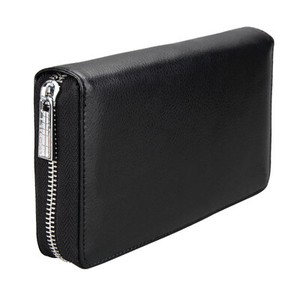 Genuine Leather Large capacity Men's Wallet Many Clean Card
