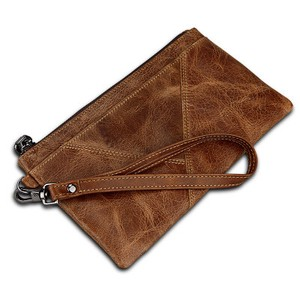 Men's Genuine Leather Card Men's Multiple Functions Wallet