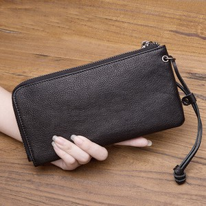 Many Clean Large capacity Men's Bag Long Wallet