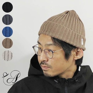 Line Linen Cotton Knitted Hat
