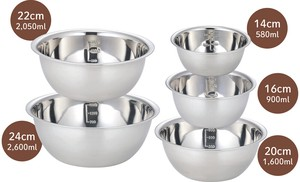 Cooking Stainless Bowl