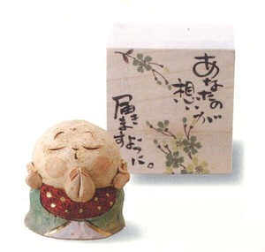 Ornament Folk Craft A Wish Jizo Ornament
