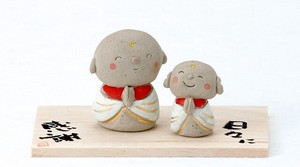 Ornament Parent And Child Jizo Ornament